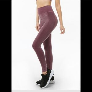 Like new ribbed workout athletic gym leggings S